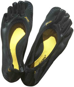 Vibram Never Worn Ventilated Upper Minimalist Fivefingers Size 39 Smoke-free/Pet-free black Athletic