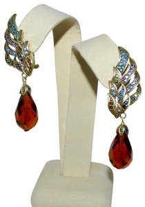 Heidi Daus HEIDI DAUS Heidi's Angels Crystal Accented Drop Earrings Pierced