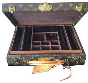 Louis Vuitton Louis Vuitton monogram Jewelry Case M47120
