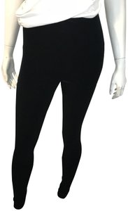 Commando Size L Control Perfect Control Velvet BLACK Leggings