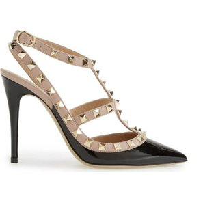 Valentino Patent Leather Rockstud Pumps