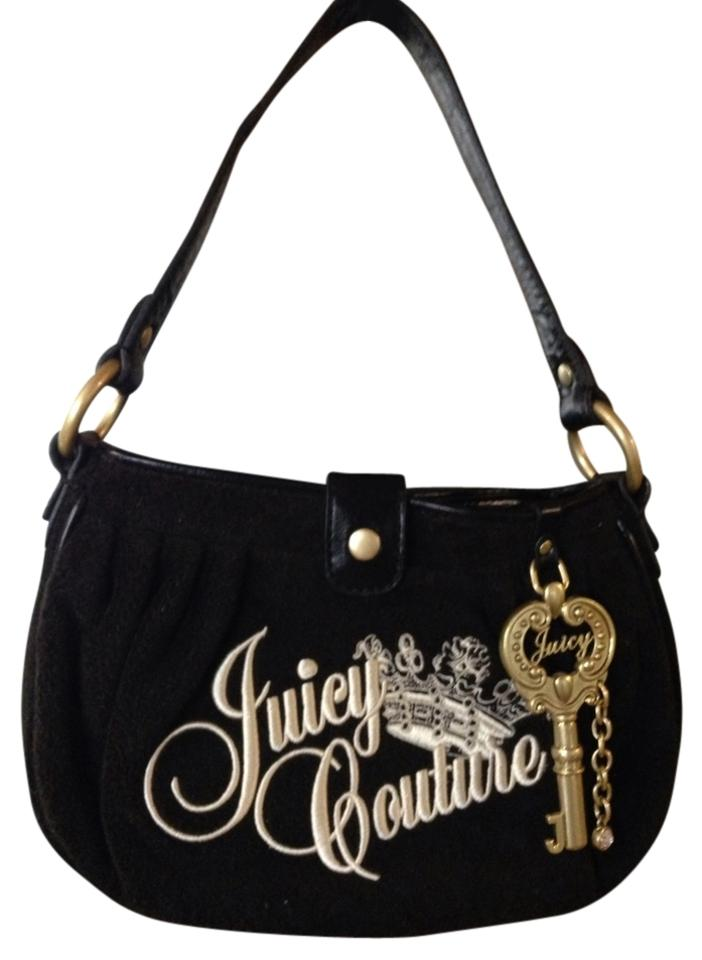 juicy couture black tote bag on sale 60 off totes on sale. Black Bedroom Furniture Sets. Home Design Ideas