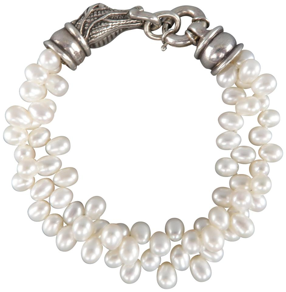 divine gray pearls saint in bracelet hero blessings pearlngray my blessing platinum
