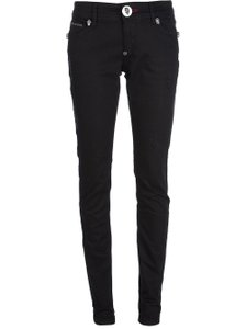 Philipp Plein Skull Boot Cut Jeans-Dark Rinse