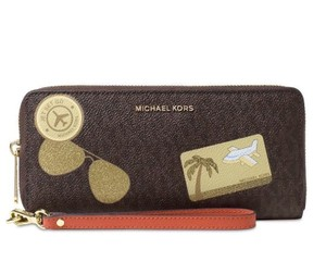 MICHAEL Michael Kors ILLUSTRATION FLY AWAY TRAVEL CONTINENTAL WALLET