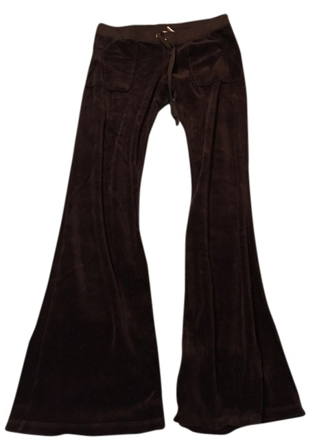 Preload https://item1.tradesy.com/images/juicy-couture-brown-black-relaxed-fit-pants-size-6-s-28-2261540-0-0.jpg?width=400&height=650