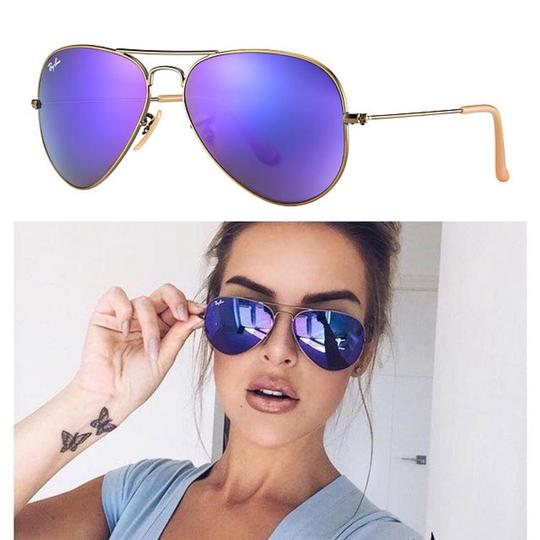 Ray Ban Violet Holiday Sale Mirror Rb3025 167 1m