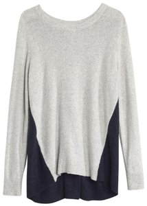Madewell Color-blocking Zip Up Sweater