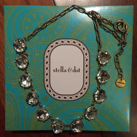 Stella & Dot Stella & Dot Gold Somervell Necklace with Gift Box