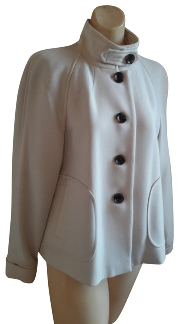 Item - Winter White Wool Coat Size 10 (M)
