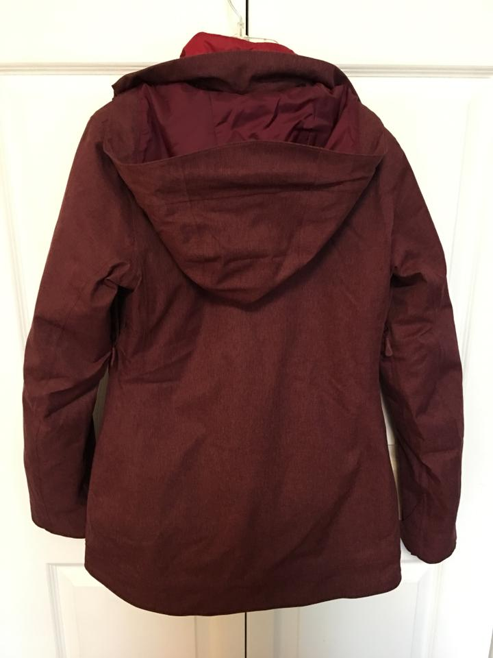 The North Face Women s Thermoball Snow Triclimate Parka Coat Size 2 ... 7c19c3009dd3