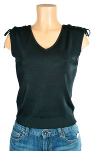 Sioni Club Ware Night Out V-neck Top black