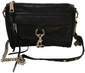 Rebecca Minkoff Leather Convertible Studded Cross Body Bag