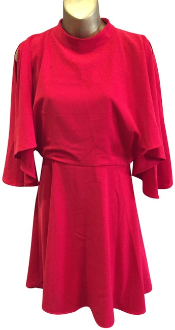 Item - Red Indian Short Night Out Dress Size 4 (S)