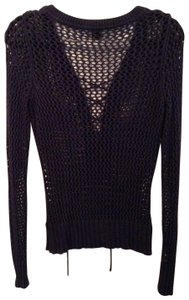 Saks Fifth Avenue Open Weave Cotton Sweater