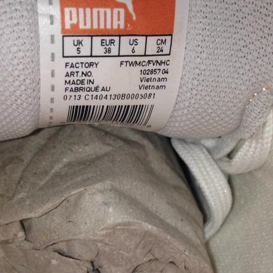 Puma New White Pink Orange Junior Athletic