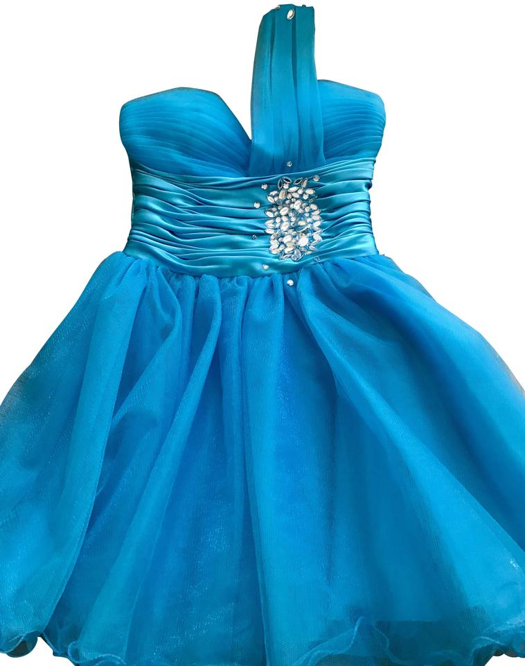 Dancing Queen Dresses Blue Mid Length Formal Dress Size 4 S Tradesy