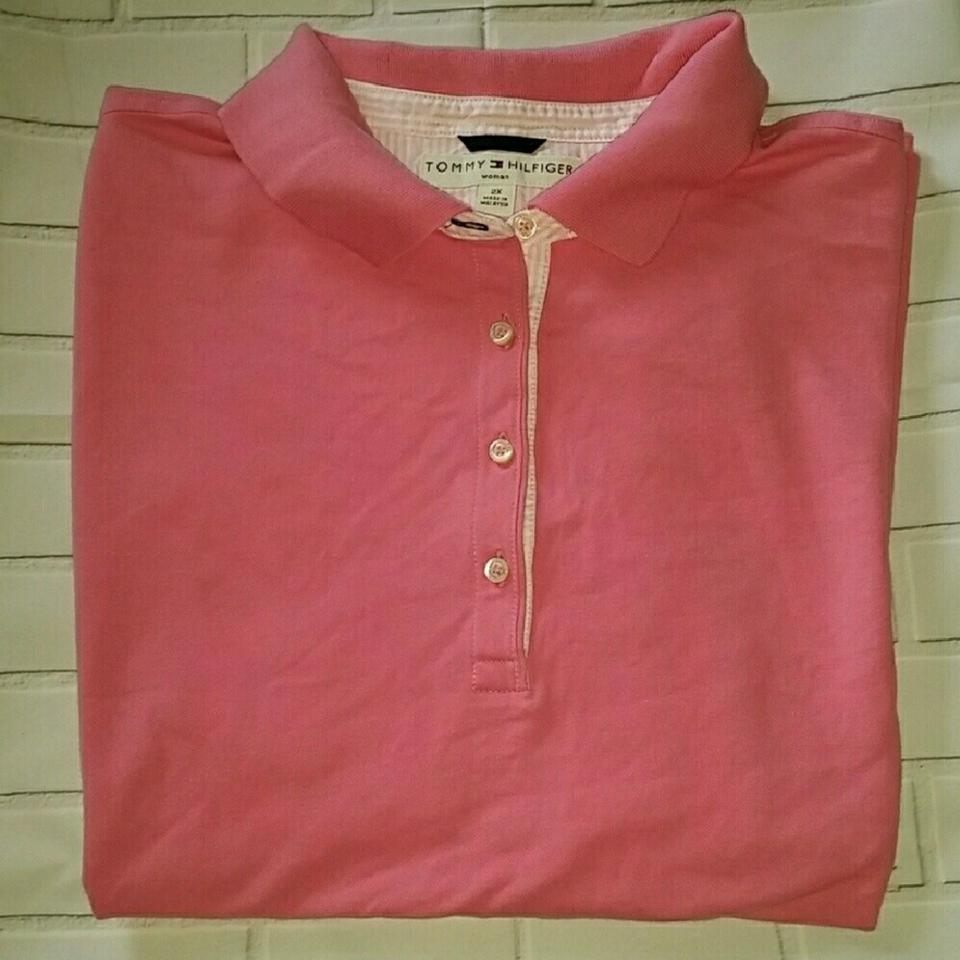 Tommy hilfiger stretch polo tee shirt size 22 plus 2x for Tommy hilfiger shirt size chart