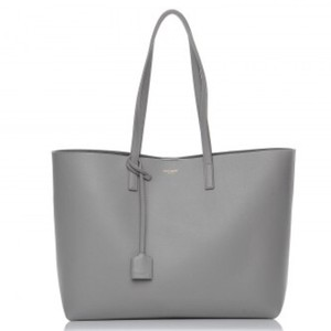 Saint Laurent Tote in Oyster Gray