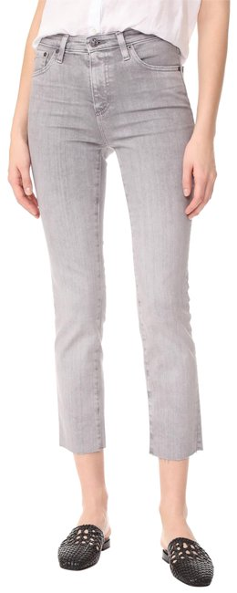 Item - Gray The Isabelle High-rise Straight Anthropologie Capri/Cropped Jeans Size 30 (6, M)