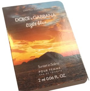 Dolce & Gabbana Dolce & Gabbana Limited Edition Light Blue Sunset In Salina Edt 2ml Mini