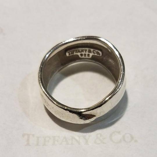 Tiffany Amp Co Silver Retired Nature Leaf Ring Tradesy