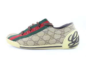 Gucci Ace Web 2017 2018 Stripe Brown Athletic