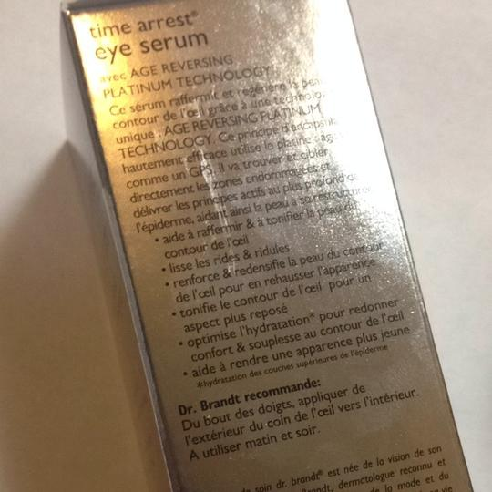 Dr Brandt New Dr Brandt Time Arrest Eye Serum Platinum 15ml