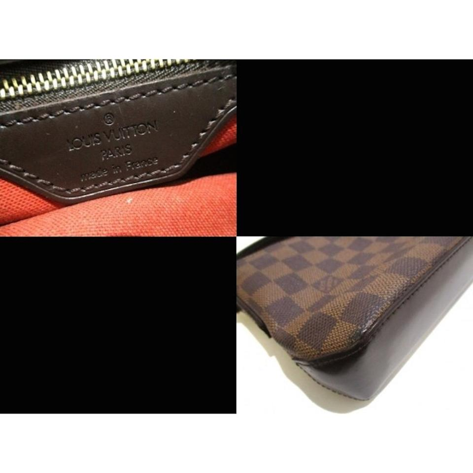 ec6fdf441d13 Louis Vuitton Trotteur Damier Ebene Special Edition Brown Canvas ...