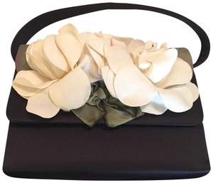 Moo Roo Magnolia Handbag Tote in Black