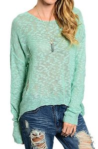 EKKLESIA Distressed Sweater