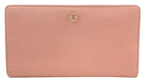 Chanel Chanel pink wallet
