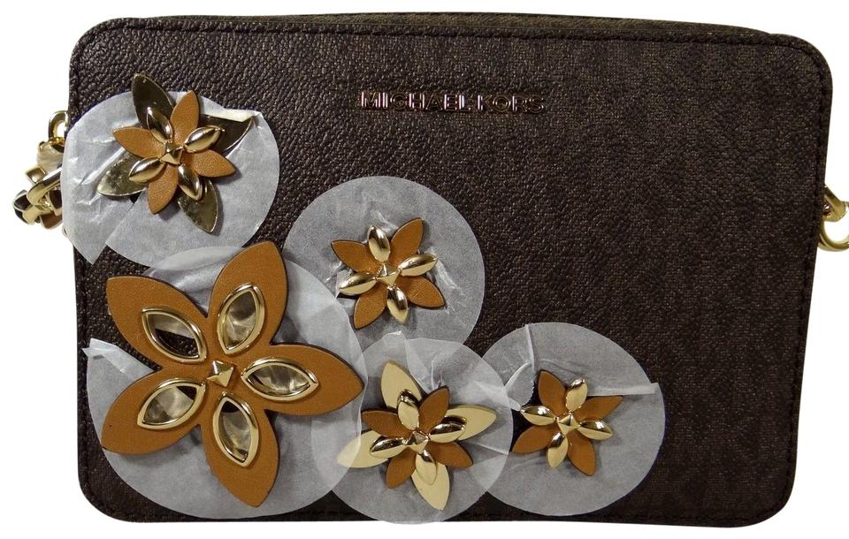 8758c58722a6 MICHAEL Michael Kors Flowers Pouches Medium Camera Cross Body Bag Image 0  ...