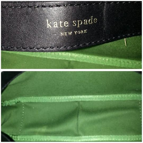Kate Spade Shoulder Balck w/ White Polka dots Clutch