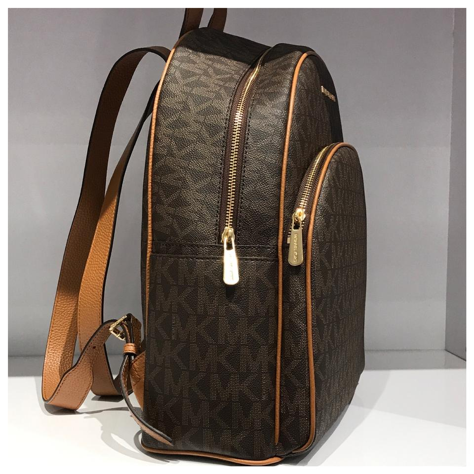 fc85c807b2a8 Michael Kors Mk Abbey Large Brown Acorn Backpack - Tradesy