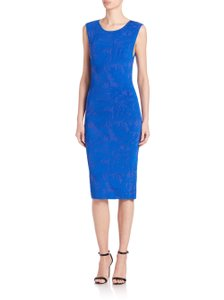 ZAC Zac Posen Career Professional Cocktail Textured Dress