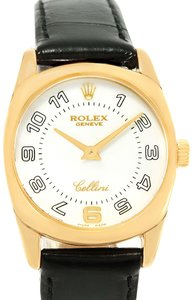 Rolex Rolex Cellini Danaos 18K Yellow Gold White Dial Ladies Watch 6229