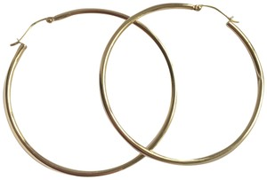 Belk 14k Yellow Gold Hoop Earrings