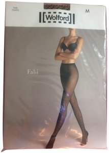 Wolford Wolford Lilien Tights Beige Black M