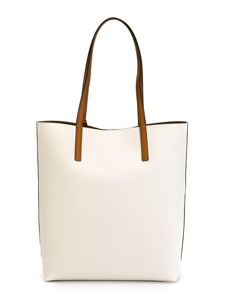 6157e590e8d8 MICHAEL Michael Kors Hayley Large North South Tote in Vanilla Image 5.  123456
