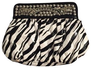 White House | Black Market black white Clutch