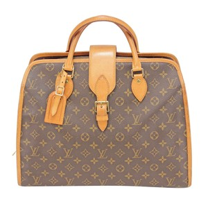 Louis Vuitton Keepall Deauville Lv Mono Gm Tote in Brown