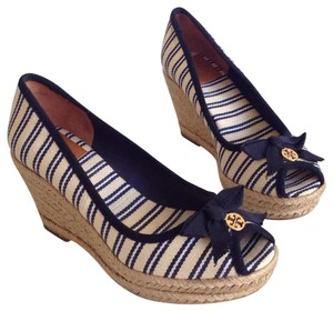 Tory Burch multi color Wedges