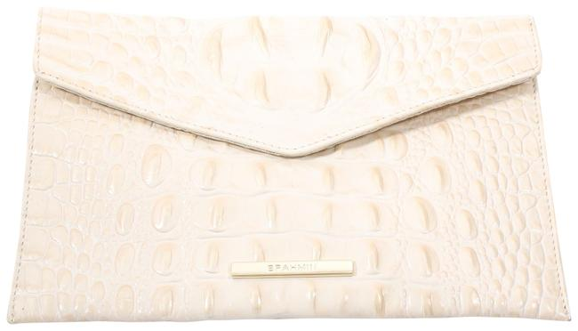 Item - Ivory Leather Clutch