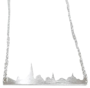 Foggy City Necklace Silver