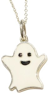 Tiffany & Co. GORGEOUS!!! Tiffany & Co. Ghost Enamel Necklace