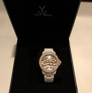 ToyWatch Toy Watch Women's Zebra Diamond Collection Watch