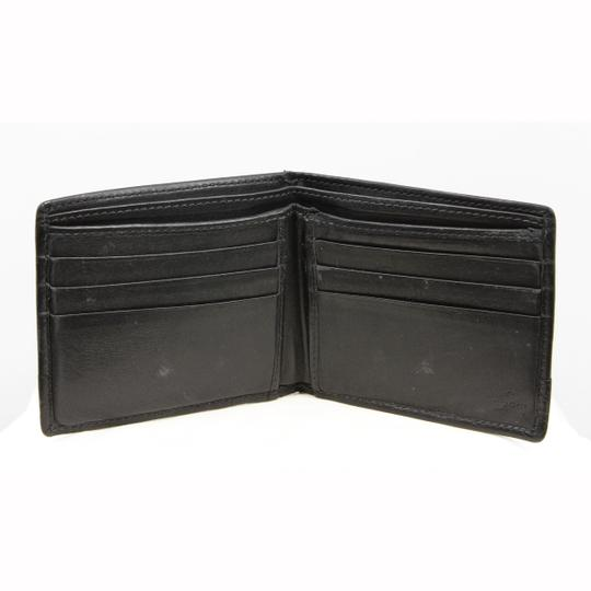 6d18dbb1779a Gucci Mens Wallet Pouch. Gucci Mens wallet Black Textured Leather w/ Coin  ...