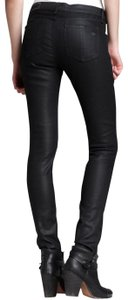 Rag & Bone Sexy Stretchy Coated Skinny Jeans-Coated