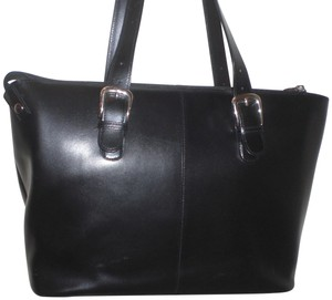Jack Georges Tote Tote Business Tote Leather Laptop Bag